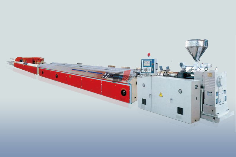Plastic Extruding Profile 、Wood and Plastic Foamed Profile Production Line